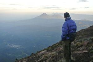 north from Acatenango