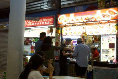 Sing Food court